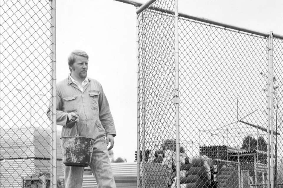 Historie Heras Mobile Fencing & Security,  1970 bouwhek