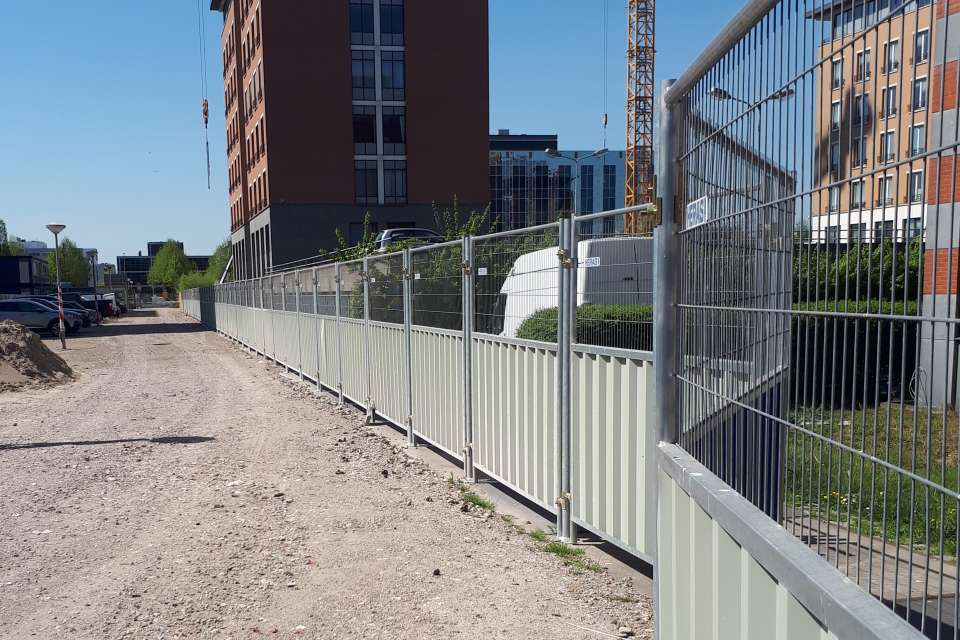 Noise Control Barrier Heras